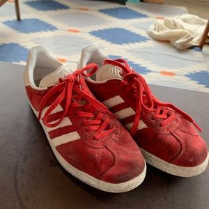 Adidas Gazelle Classic Red